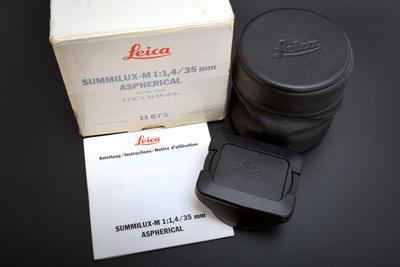 徕卡 Leica M 35/1.4 ASPHERICAL 11873 双非 双A 带包装