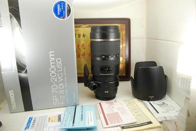 98新佳能口 腾龙 70-200 F2.8 VC USD A009 单反镜头 防抖
