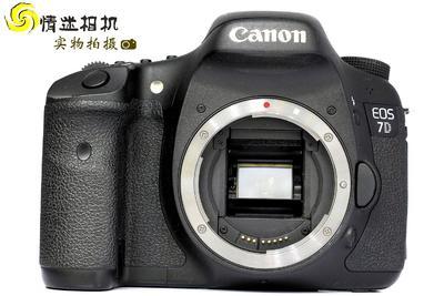 【半画幅专业单反数码相机】佳能7D机身(NO:5689)*