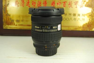 尼康 18-35 F3.5-4.5D 银广角 单反镜头 全画幅 超广角 出片好
