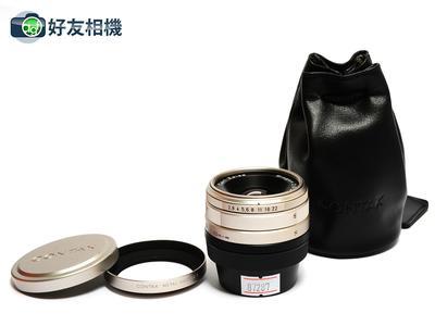 康泰时 G Biogon 28/2.8 T*镜头连GG-1罩 28mm G1 G2用 *98新*