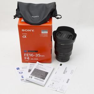 Sony索尼FE 16-35/4 ZA OSS全画幅广角变焦微单镜头国行98新#6939