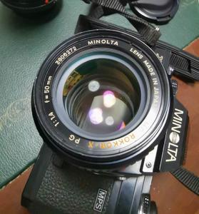 美能达手动镜头MC Rokkor X 50 1.4 黄标