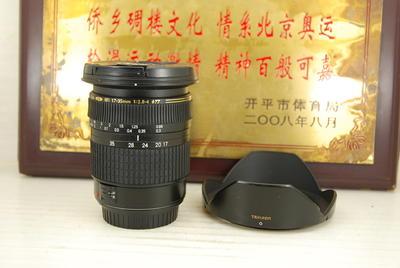 佳能口 腾龙 17-35 F2.8-4 A05 全画幅超广角单反镜头