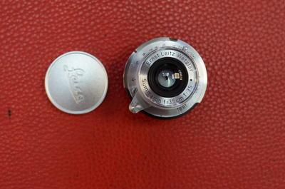 Leica 徕卡leitz elmar M35 3.5 M口 莱卡35/3.5旁轴镜头黑白利器