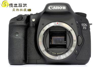 【半画幅专业单反数码相机】佳能7D机身(NO:7640)*