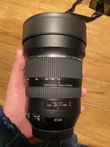 腾龙 SP 15-30mm f/2.8 DI VC USD(A012),佳能口