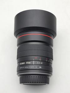 变色龙cen 佳能口 EF 85/1.4  大光圈手动人像镜头