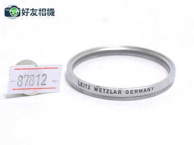徕卡 Leitz E43 UVa 银色43mm滤镜 50/1.4 第一二代镜头用 *98新*