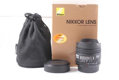 95/尼康 AF Fisheye 16mm f/2.8D 鱼眼 镜头(带包装)