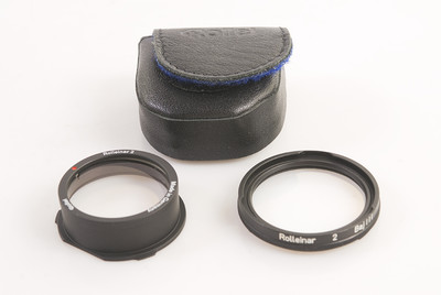 Rollei/禄来 Rolleinar 2 Baj III 近摄镜 2.8GX/FX适合 #HK7196X