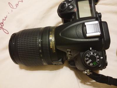 尼康 D7000机身+镜头+相机包+三脚架+内存卡+遮光罩