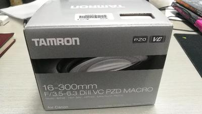 腾龙 16-300mm f/3.5-6.3 Di II VC PZD MACRO(B016)For canon