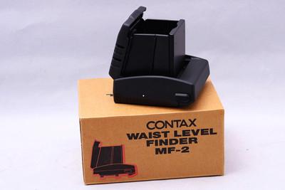 蔡司 ZEISS Contax 康泰时645 645腰屏取景器 MF-2 收藏新同品