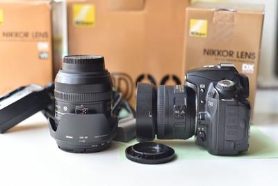 甩出尼康 D90,尼康镜头16-85,尼康镜头35 1.8G