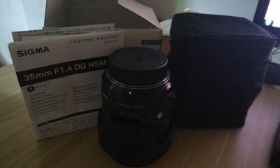 适马 35mm f/1.4 DG HSM(A)尼康口
