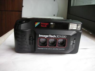 极新少见美国ImageTech3D1000,三镜头运动相机,收藏使用