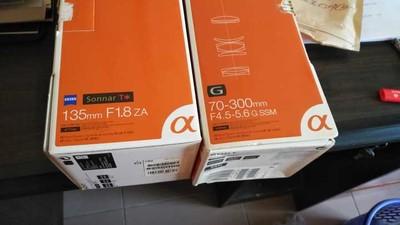 索尼 Sonnar T* 135mm f/1.8 ZA(SAL135F18Z)