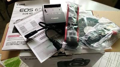 转让个人闲置的佳能EOS 6D全画幅单反相机机身