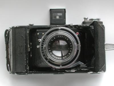 极为少见的德国蔡司 Zeiss Nettar 516/2德国大八张相机!