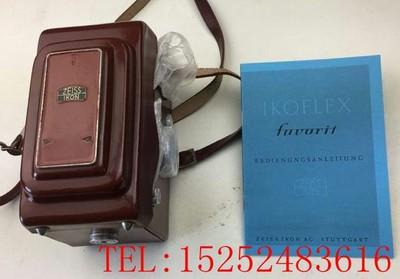 IKOFLEX IIC FAVORIT 蔡司依康 末期双反相机 好成色 收藏品