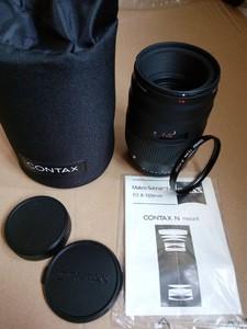 康泰时 蔡司 CONTAX 100 2.8 N口 N1 AF 自动对焦 百微 带原装UV
