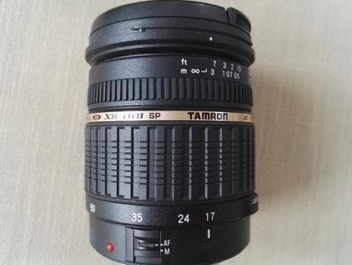 腾龙 SP AF17-50mm F/2.8 XR Di II