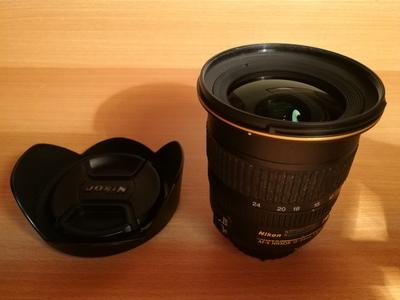 尼康 AF-S 12-24mm f/4G 金圈广角镜头 95新