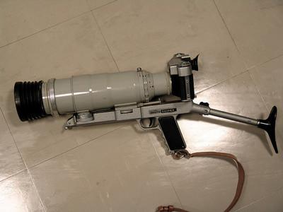 泽尼特枪式机(300mm f4.5镜头)