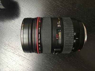 佳能 EF 28-70mm f/2.8L USM,送(B+W)UV镜