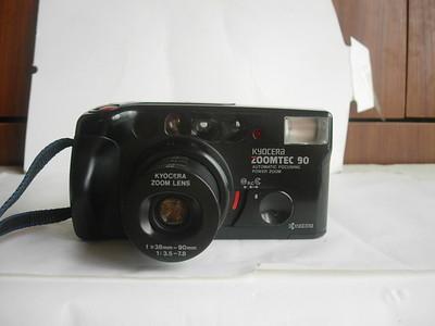 很新雅西卡京瓷90变焦相机,个头大,收藏使用