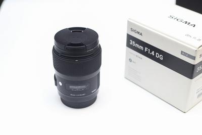 适马 35mm f/1.4 DG HSM(A)佳能口 行货