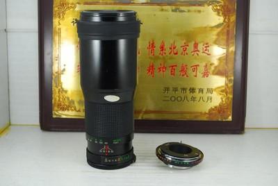 MD口 Vivitar/威达 400mm F5.6 手动 单反镜头 远摄定焦 可置换