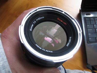 Rolleiflex 6000系列用150mm/f4 中焦头