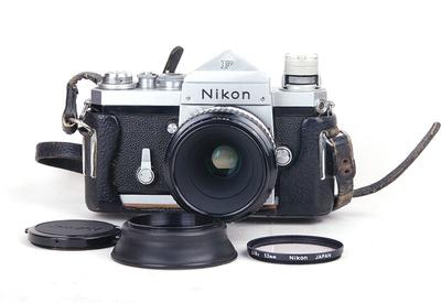 特价尼康 大F 银色机身 带Nikkor 55/3.5镜头 #jp17936