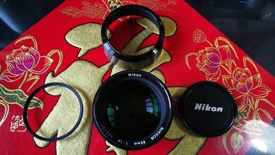 尼康85/1.4 AIS 手动镜头