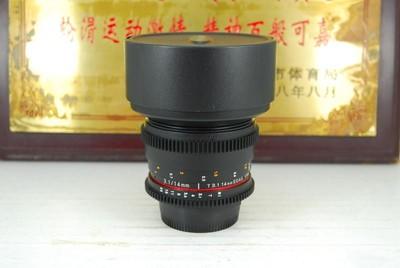 95新 尼康口 威摄 14mm T3.1 超广角 手动电影头单反镜头 定焦