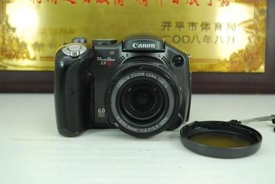 佳能 PowerShot S3 IS 数码长焦相机 带防抖 旋转屏