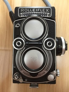 Rolleiflex 禄来 3.5F 后期黑脸 成色极新