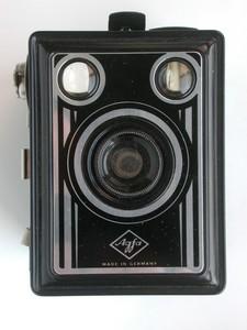 带包装纸盒的德国Agfa Box相机!成色不错!