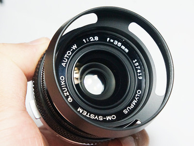 奥林巴斯OM35 f2.8 手动定焦成色好可转接