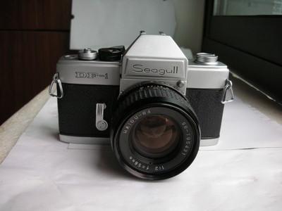极新海鸥DF--1机械快门单反相机带58mmf2镜头,收藏使用