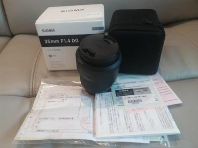 适马 35mm f/1.4 DG HSM(Art) 尼康口  50 1.4 Art