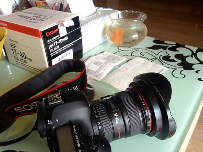 个人一手 佳能 EF 17-40mm f/4L USM