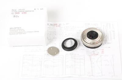 宫崎光学2017年新款  PERAR-R 17/4.5 MC 镍金属头 #HK