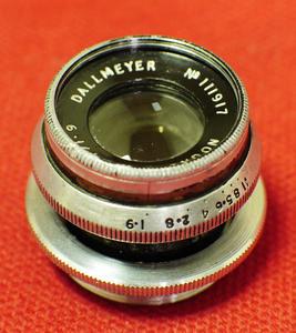 英国 刀梅 Dallmeyer london 25mm-F1.9 C口电影镜头