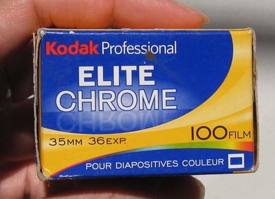 柯达Kodak Elite Chrome EB-3 35MM克罗姆ISO100反转片正片胶卷