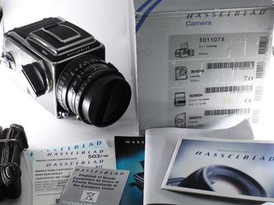 哈苏 HASSELBLAD 503CW CFE80 A12 套机