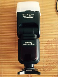 沃龙sp-595  +三洋充电电池+尼康引闪