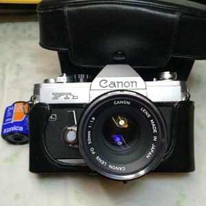 Roc___599元Canon/佳能 FTb 极品成色+50mm F1.8